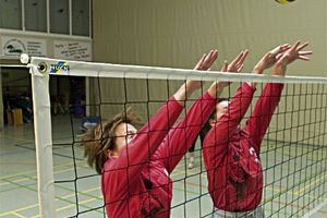 Volleybal trainingsnet