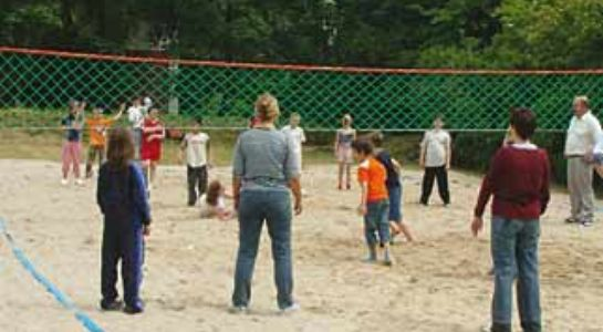 Antivandalisme Clips volleybalnet