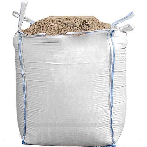 Big Bag 1000kg - 90x90x110cm. Boven met vulslurf, onder met losslurf.